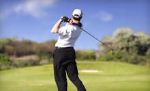 One, Three, or Five Private Golf Lessons with Range Balls at Mark S. Macy Golf Instruction (Up to 56% Off)