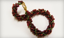 Introductory Jewelry-Making Class for One or Two at Tampa Bead Cafe (53% Off)