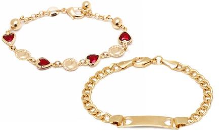 Heart or Flower ID Bracelet