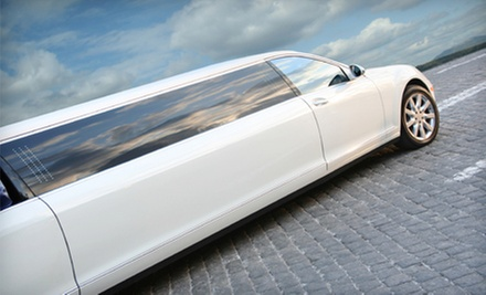 One-Way or Round-Trip Airport Transportation in an SUV or Sedan from Harris Limousine (Up to 66% Off)