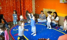 $65 for Membership with Three Kids' Classes, Five Playspace Passes, and One Child's Haircut at Kidville ($224.50 Value)