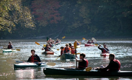 Single or Tandem Kayak Lesson and Rental from Toronto Adventures Inc. (Half Off)