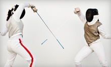 $19 for a Two-Hour Introductory Fencing Class for Two at Iowa City Fencing Center ($50 Value)