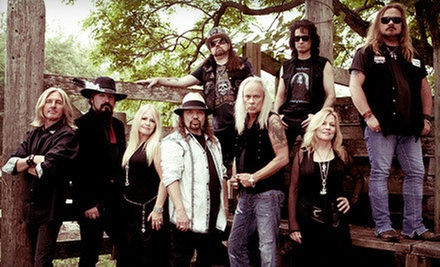 Lynyrd Skynyrd at Oak Mountain Amphitheatre on Friday, July 12, at 8 p.m. (Up to 61% Off)
