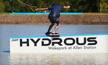 $55 for a Cable-Wakeboarding Package for Two at Hydrous Wake Park (Up to $130 Value)