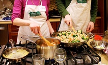 Cooking Classes at The Food Evolution (Up to 54% Off). Three Options Available.