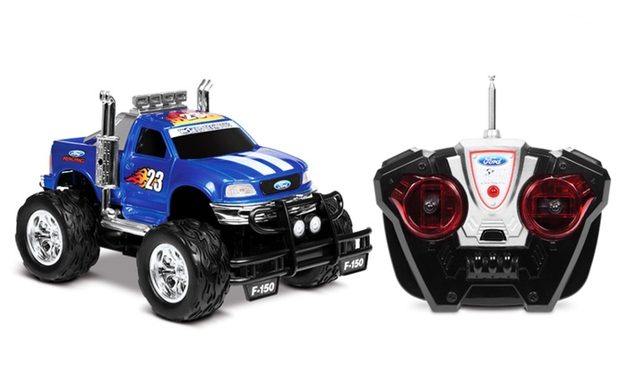 ford f 150 rc monster truck deal of the day groupon. Black Bedroom Furniture Sets. Home Design Ideas