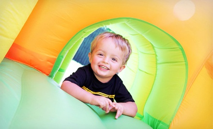$25 for a Month of Unlimited Family Visits at Jump 'N Bounce ($50 Value)
