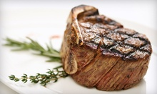 Steak-House Dinner for Two or Four or $6 for $12 Worth of Sandwiches and Salads for Lunch at Haab's Restaurant