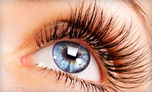 One Set of Eyelash Extensions with Optional Fill at The Glam Bar & Lash Lounge (Up to 53% Off)