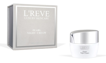 L'Reve Pearl Night Cream; 1.7 Fl. Oz.
