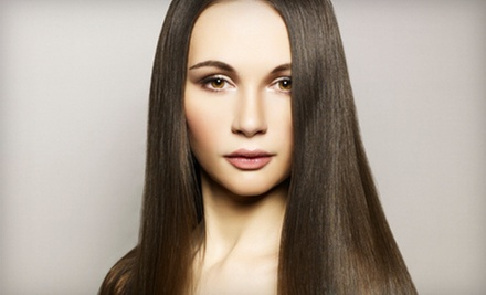 Haircut with Option of All-Over Color, or a Keratin Smoothing Treatment at The Finished Look Salon & Spa (Up to 80% Off)