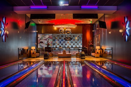 $19.50 for $40 Worth of Bowling, Shoe Rental, Billiards, and Shuffleboard at Kings Bowl