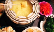 Signature Fondue Dinner for Two or $25 for $50 Worth of Fondue at Fondue Stube