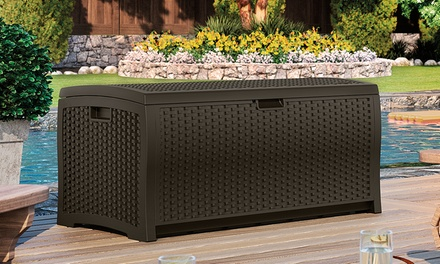Suncast 73-Gallon Outdoor Deck Storage Box
