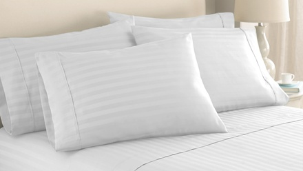 1,000-Thread-Count Egyptian-Cotton-Rich 6-Piece Sheet Set