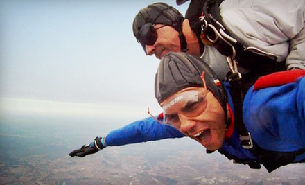 $209 for Tandem Skydive for One with Handcam Video at Skydive Kentucky (Up to $275 Value)