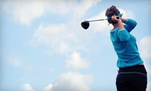 $25 for $50 Worth of Range Balls, Miniature Golf, and Batting-Cage Sessions at Missing Links Driving Range in Largo