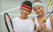 $29 for Five One-Hour Kids Group Tennis Lessons at Cross Gates Family Fitness ($70 Value)