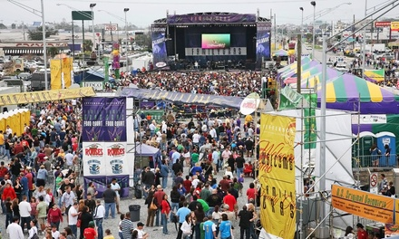 VIP Royal Pass to Mardi Gras' Family Gras Festival Featuring The Beach Boys and LeAnn Rimes on February 6–8 (Up to 54% Off)
