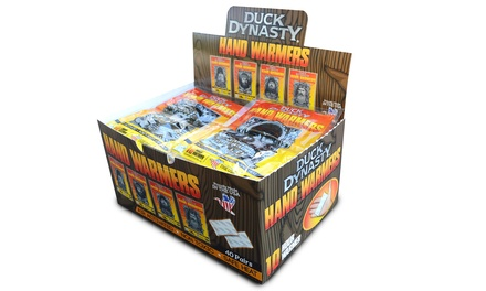 40 Pairs of Duck Dynasty Hand Warmers