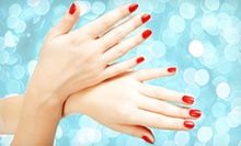 Basic or Shellac Manicure with Signature Pedicure at Nails by Illeen (Up to 59% Off)