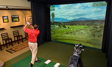 $60 for a One-Hour Private Indoor Golf Lesson at Jim McLean Golf School ($125 Value)