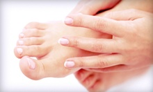 $25 for a Spa Mani-Pedi at Beauty and Beyond Personal Enhancement Center in Arlington ($65 Value)