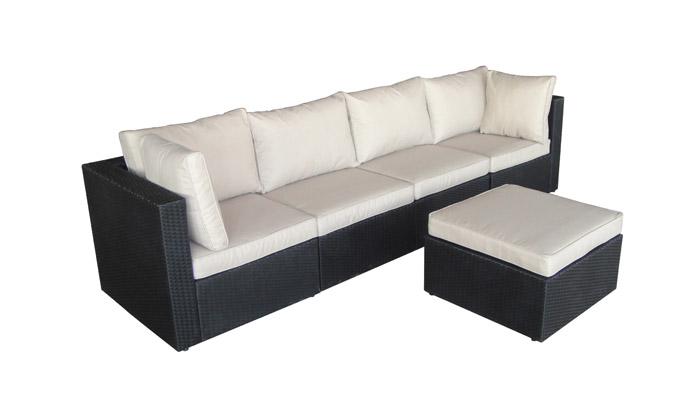salon de jardin r sine tress e groupon shopping. Black Bedroom Furniture Sets. Home Design Ideas