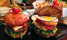Burgers and Sides for Two or Four at Smokey Burger Organic (Up to 53% Off)