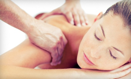 One or Three Back-Exfoliation Sessions with Back, Head, Neck, and Shoulder Massages at Sunrise Massage (Up to 63% Off)
