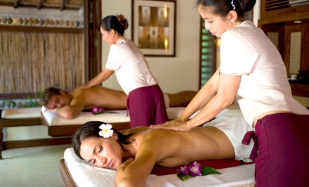 Spa Package, Couples Spa Package, or Ladies' Spa and Makeover Party for Four at My Oasis Spa (Up to 52% Off)