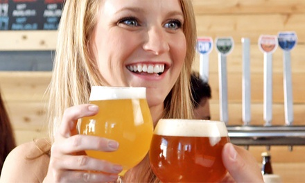 Craft Beer Package for Two or Four at Coachella Valley Brewing Company (Up to 42% Off)