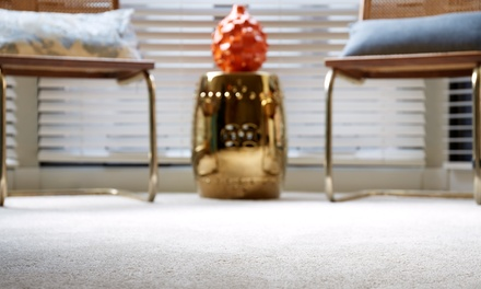$159 for Residential Carpet Cleaning for Seven Areas from Azure Carpet Cleaning ($320 Value)