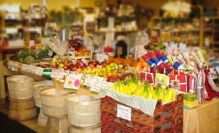 $10 for $20 Worth of Fresh Produce, Baked Goods, and Catering Trays at Cranberri Country Market