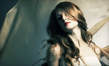 Haircut-and-Style Package with Blowout, Partial Highlights, or Full Highlights at The Indus3