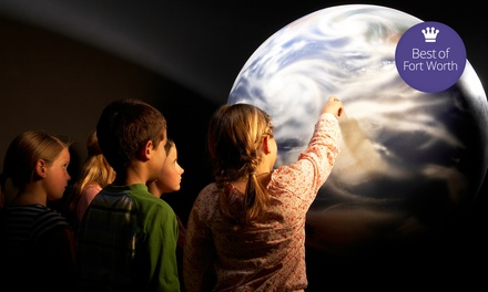 Planetarium Show Admission for Four or Six at The Planetarium at UT Arlington (Up to 50% Off)