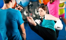 Six-Week Cardio-Kickboxing or Self-Defense Course at Evolution Enterprises LLC (64% Off)