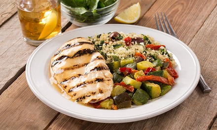 $113.95 for a Seven-Day Meal Program from South Beach Diet Delivery ($214.90 Value)