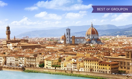 groupon daily deal - ✈8-Day Tuscany Vacationwith Airfare and Rental Car from Gate 1 Travel; Price/Person Based on Double Occupancy