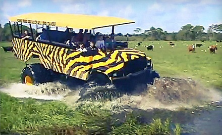 Monster-Truck Off-Road Eco Tours at Showcase of Citrus (Up to 53% Off). Four Options Available.