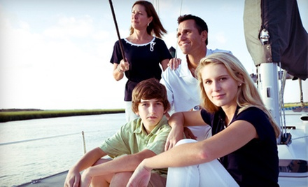 Sailing Lessons from Harmonic Seas Charter Co. and Nautical School (Up to 51% Off). Three Options Available.