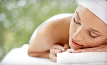 50-Minute Hot-Stone Massage, Microdermabrasion, or Both at The Whole You Spa (Up to 64% Off)