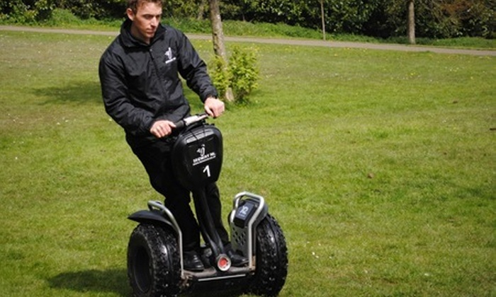 Segway NI - Craigavon: Segway NI: Off-Road Experience For One (£15) or Two (£29) in Craigavon
