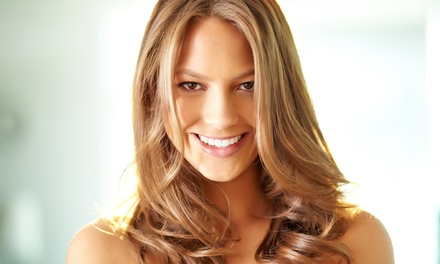Haircut with Option for Base Color or Partial Highlights, or a Keratin Treatment at Sylvé Imäge (Up to 61% Off)