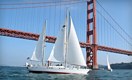 $40 for a Two-Hour Sunset, Full-Moon, or Afternoon Cruise for Two from Bay Breeze Charters in Sausalito ($80 Value)