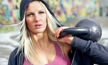 One or Three Private Kettlebell-Training Sessions from Downtown Fitness World (Up to 77% Off)