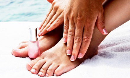 One Manicure or One or Two Mani-Pedis at Zen Wellness Spa (Up to 53% Off)