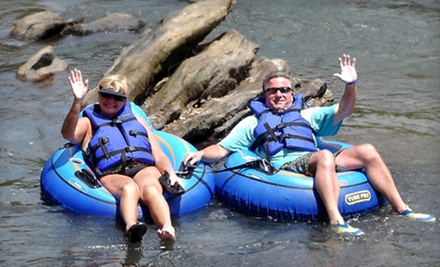 Inner-Tube or Paddleboat Rental for Two at Saluda River Rafting Adventures (Half Off)