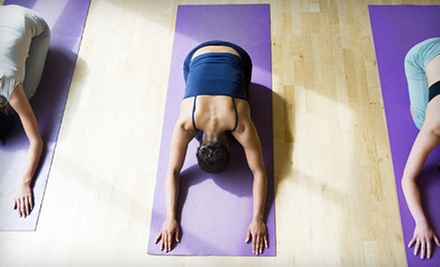 5 or 10 Hot Vinyasa Yoga Classes or Two Months of Unlimited Classes at Yoga Brent (Up to 75% Off)